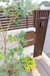 門回り植栽